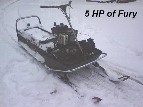 1969 4-stroke Evinrude Snowmobile