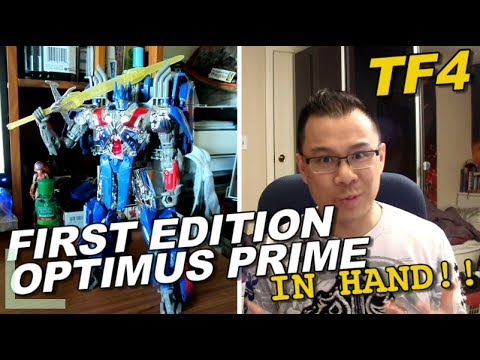 First Edition Optimus Prime IN HAND photos - [TF4 News #83]