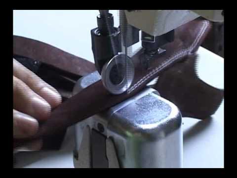 Fabricação de sandálias de couro