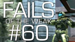 Halo Reach_ Fails of the Weak Volume 60 (Funny Halo Bloopers and Screw-Ups!)