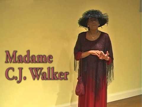 Madame CJ Walker as portrayed by Myrna Goodson-White