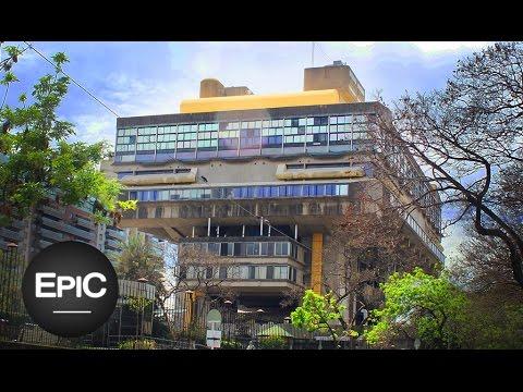 Biblioteca Nacional (Brutalismo) / National Library (Brutalism) - Buenos Aires, Argentina (HD)