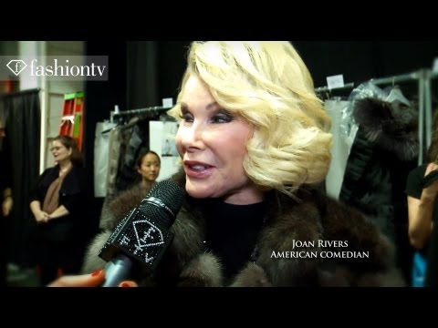 Dennis Basso Fall 2012 Show + Backstage Ft Joan Rivers, Kristin Cavallari At Nyfw | Fashiontv video
