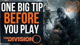 My Biggest Tip Before You Play The Division 2: What to do with old gear!