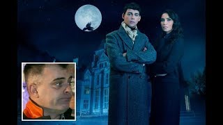 Coronation Street's Simon Gregson gets 'attacked by a ghost' in Celebrity Haunted Mansion