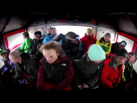 The North Face Gear Test at Baldface Lodge