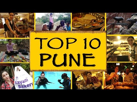 Top 10 Things To Do/See || Pune
