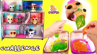 #ЛОЛ ЧЕЛЛЕНДЖ! Don't Choose the Wrong Pet LOL Surprise Slime Challenge Сюрпризы от Питомцев!
