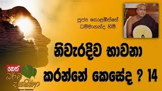 Darma Dakshina - 2019.01.31 - Kolabisse Dhammananda Himi