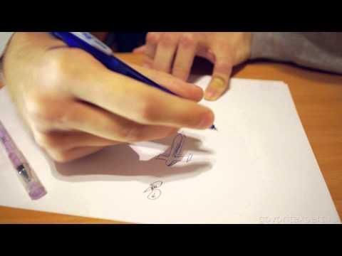 Видео как научиться рисовать комиксы