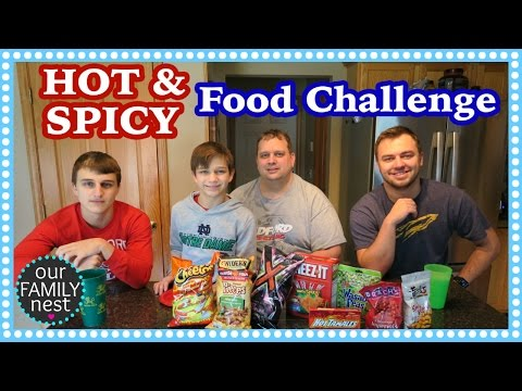 HOT & SPICY FOOD CHALLENGE