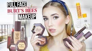 FULL FACE USING BURTS BEES MAKEUP   99.9% Natural Makeup?!