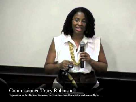 Commissioner Tracy Robinson — Promoting the Human Rights of Women in the Caribbean