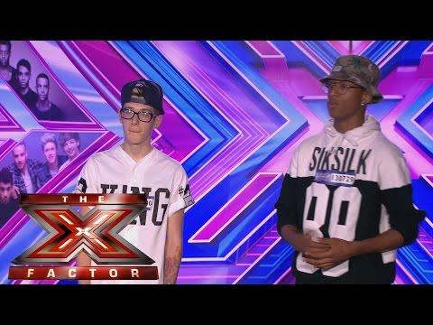 GCB sing Chris Brown's Don't Judge Me - Audition Week 1 - The X Factor UK 2014