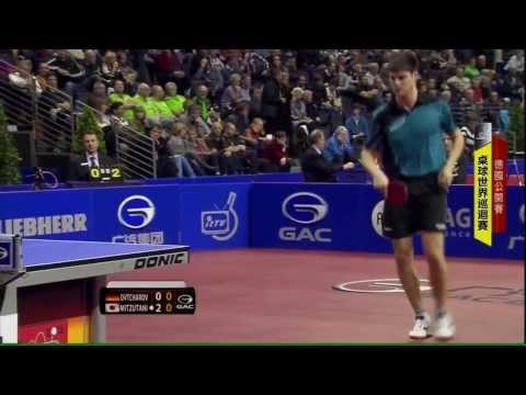 2013 German Open (ms-qf) OVTCHAROV Dimitrij - MIZUTANI Jun [HD] [Full Match/Chinese]