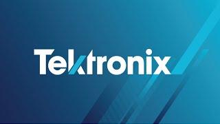 Tektronix  Oscilloscope  Tutorial  Part 1