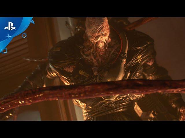 Resident Evil 3 - Nemesis Trailer  PS4