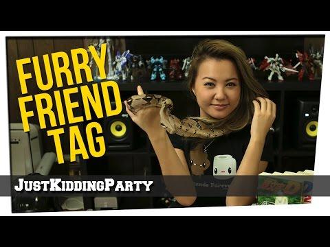 Furry Friend Tag ft Gina & Pixel