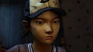 The Walking Dead: Season 2 - Clemetine talks about Lee