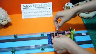DIY Model Maglev Train (Magnetic Levitation Train) Adion Shasha Science Class