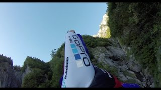 The Trench Line - Wingsuit proximity by Jokke Sommer