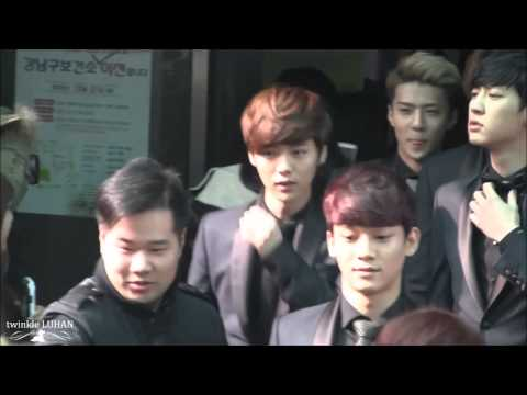 140228 Fancam EXO Luhan - Gangnam District Office  720p