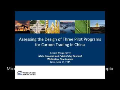 Assessing Three of China's Carbon Trading Schemes