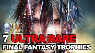 7 Ultra Rare Trophies We'll Never Unlock (Final Fantasy Edition)