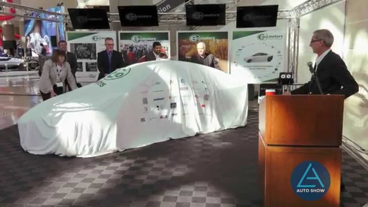 Elio Motors Press conference at the 2015 LA Auto Show