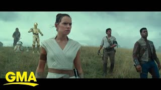 Behind-the-scenes photos from 'Star Wars: The Rise of Skywalker' l GMA