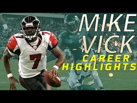 Michael Vick's UNREAL Career Highlights | NFL Legends Highlights