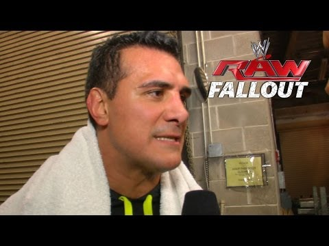 Alberto Del Rio wants a Chance - Raw Fallout - February 24, 2014