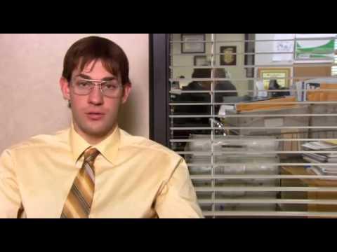 Офис [The Office] - Джим пародирует Дуайта