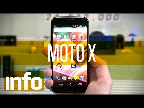 Testamos o Moto X . um smartphone sempre alerta