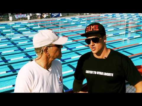 Interview Ryan Lochte - Olympic swimmer