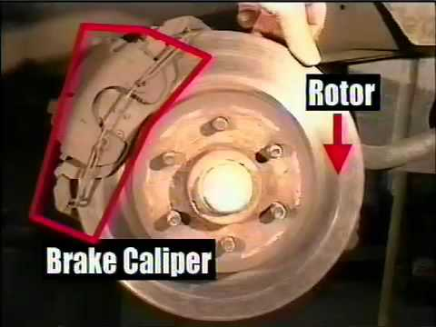 Front Brakes 1 Dodge Dakota Youtube