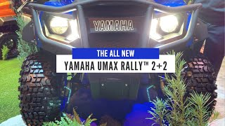 A Step Up from a Golf Cart - An In-Depth View of the NEW Yamaha UMAX Rally™ 2+2