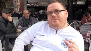 England Fans Hoping For A Thriller In Pristina