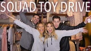SQUAD TOY DRIVE 2015 | THE PERKINS