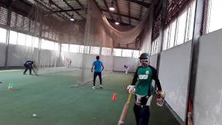 Under 19 player  Net practice 2017,