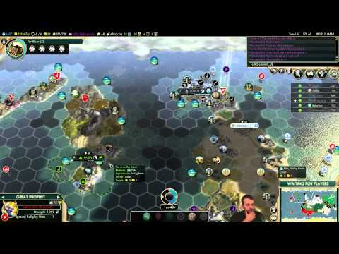 MP 078 Stream: Austria (Civilization V Brave New World 6 Player Free For All) Gameplay/Commentary