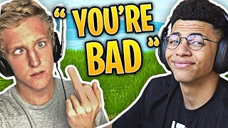 When Fortnite Streamers Trash Talk Each Other