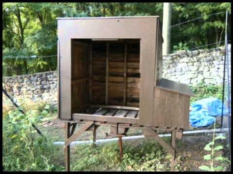 Gallineros de madera caseros
