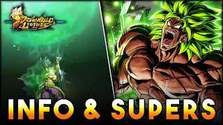 FULL POWER SUPER SAIYAN BROLY LOOKS AMAZING! AMAZING SUPERS! Dragon Ball Legends