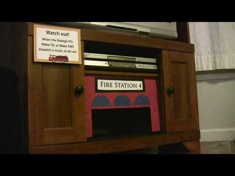 Dispatchatron: Mini Fire Station Mimics Real Stations in Real Time