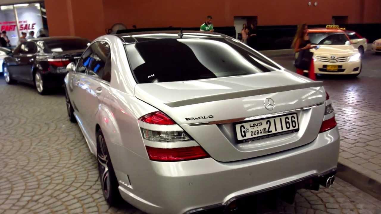 Wald Custom Bodykit S Class Mercedes Benz S500 Mall Of