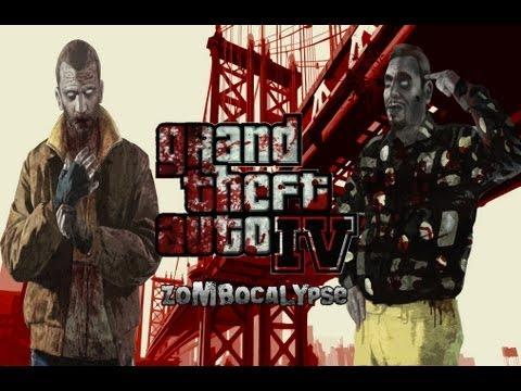 ОБЗОР: GTA 4  zombie mod (ZoMbocalYpse)