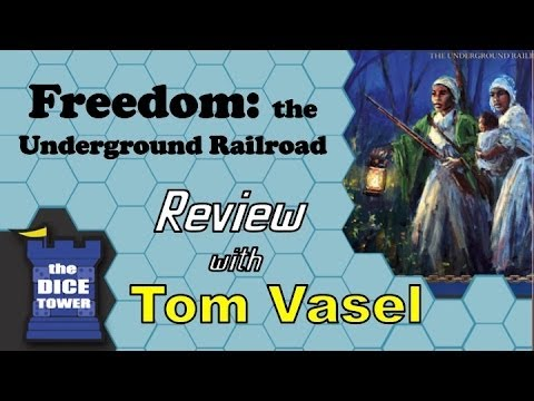 Freedom: the Underground Railroad Review - with Tom Vasel