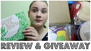 Green Kids Crafts Review & GIVEAWAY (CLOSED)