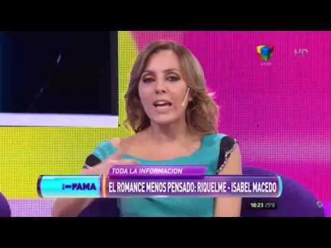 ¿Qué pasa entre Isabel Macedo y Juan Román Riquelme?